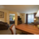 Enjoy our spacious living room area in our 1 bedroom suite.