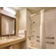 Studio Suite Wheelchair accessible bathroom with tub