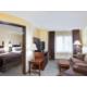 Spacious One Bedroom Double Queen Suite