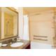 Stylish Guest Bathroom includes ADA Transfer Tub