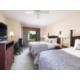 Two Bedroom Suite with 2 Queen Beds