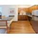 Queen Bed Guest Room Kitchen