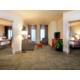 2 Bedroom Suite, 2 Doubles in one - 1 Queen in the other. 2 baths