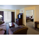 Two Bedroom Suite Living Room with Master Bedroom