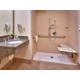 ADA Roll In Shower Guest Bathroom