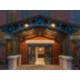 Safe Well Lit Hotel Entrance