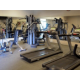 Stay active by working out in our fitness center