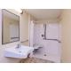 ADA Guest Bathroom - Roll In Shower