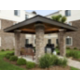 Outdoor BBQ Pavillion is perfect for grilling out with neighbors