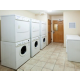 Laundry Room with washers and dryers, free for guest use 24/7.
