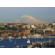 View of Mt. Rainier & Lake Union from Rooftop Deck and Patio