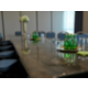 Boardroom with natural light and linen free tables