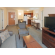 One Bedroom Suites feature spacious separate living area.