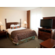 Studio Suite with Queen Bed and sofa-sleeper in expanded room.