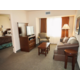 One Bedroom Suite with Two Double beds and separate living area.