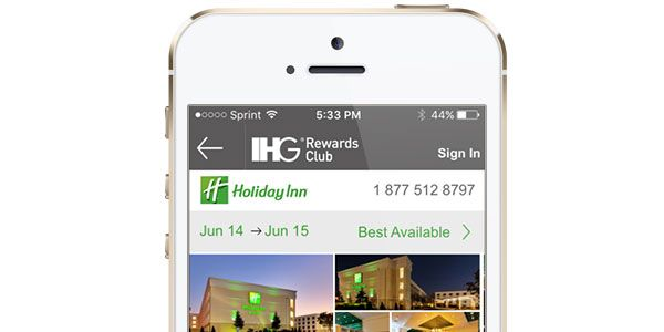 Download the IHG® Rewards Club App