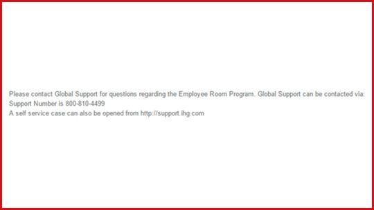 Employee Room Benefit Programme | IHG