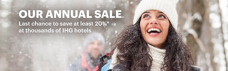 797304feaf3ab The Annual Sale: Save 20% at IHG hotels | IHG