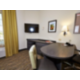 Queen Bed Guest Room Desk Area