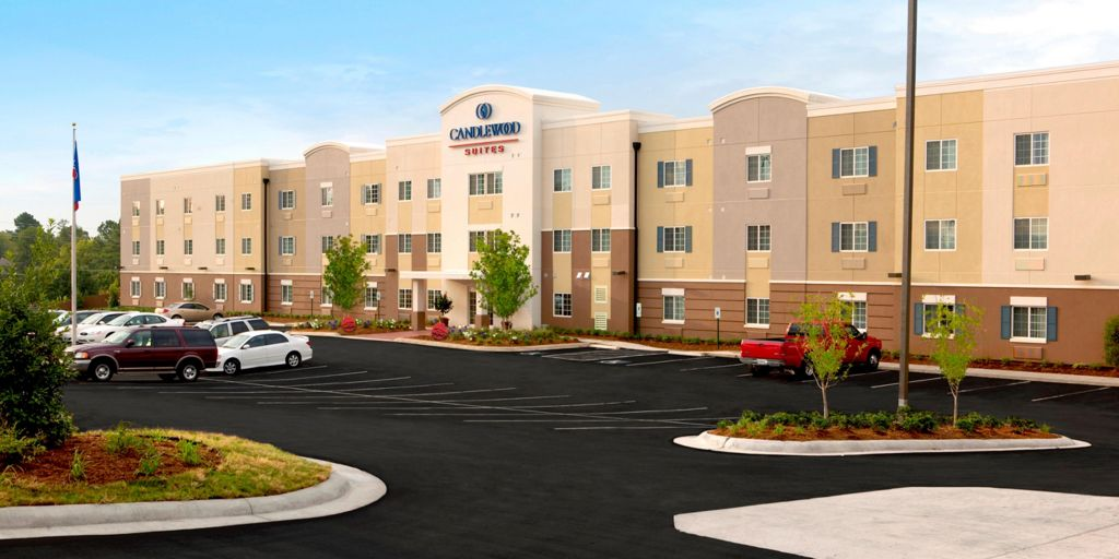 Hotel Exterior Welcome To The Candlewood Suites Bay City