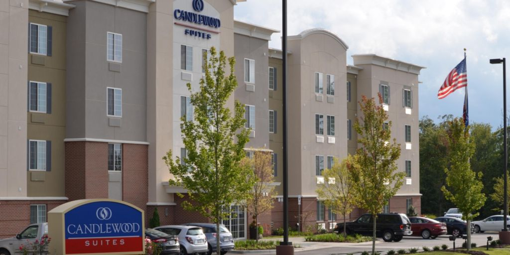 Hotel Exterior Candlewood Suites Greenville