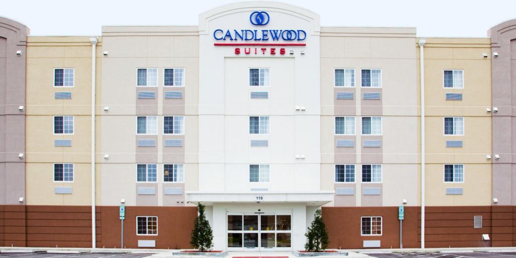 Hotel Exterior Candlewood Suites Jacksonville Nc