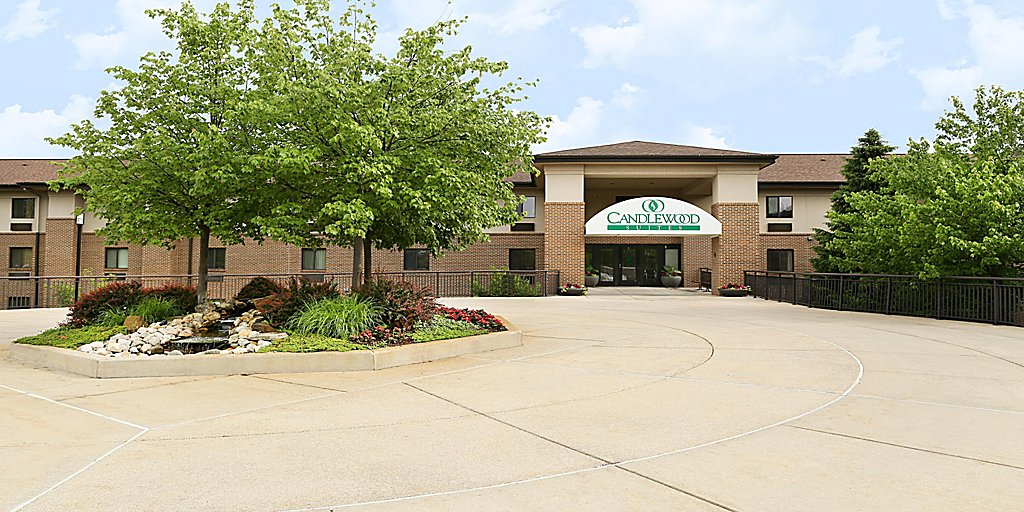 Candlewood Suites East Lansing Extended Stay Hotel In Lansing