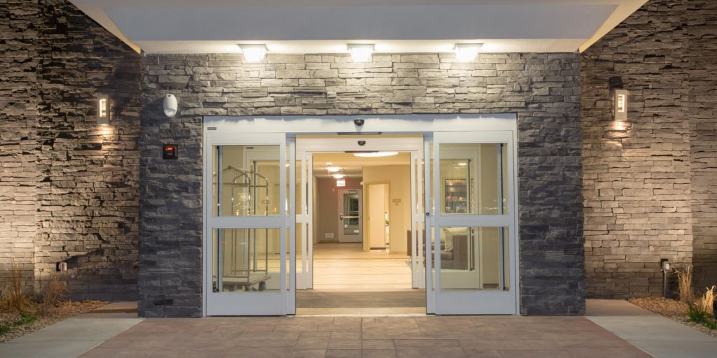 Entrance For Candlewood Suites In Longmont Colorado