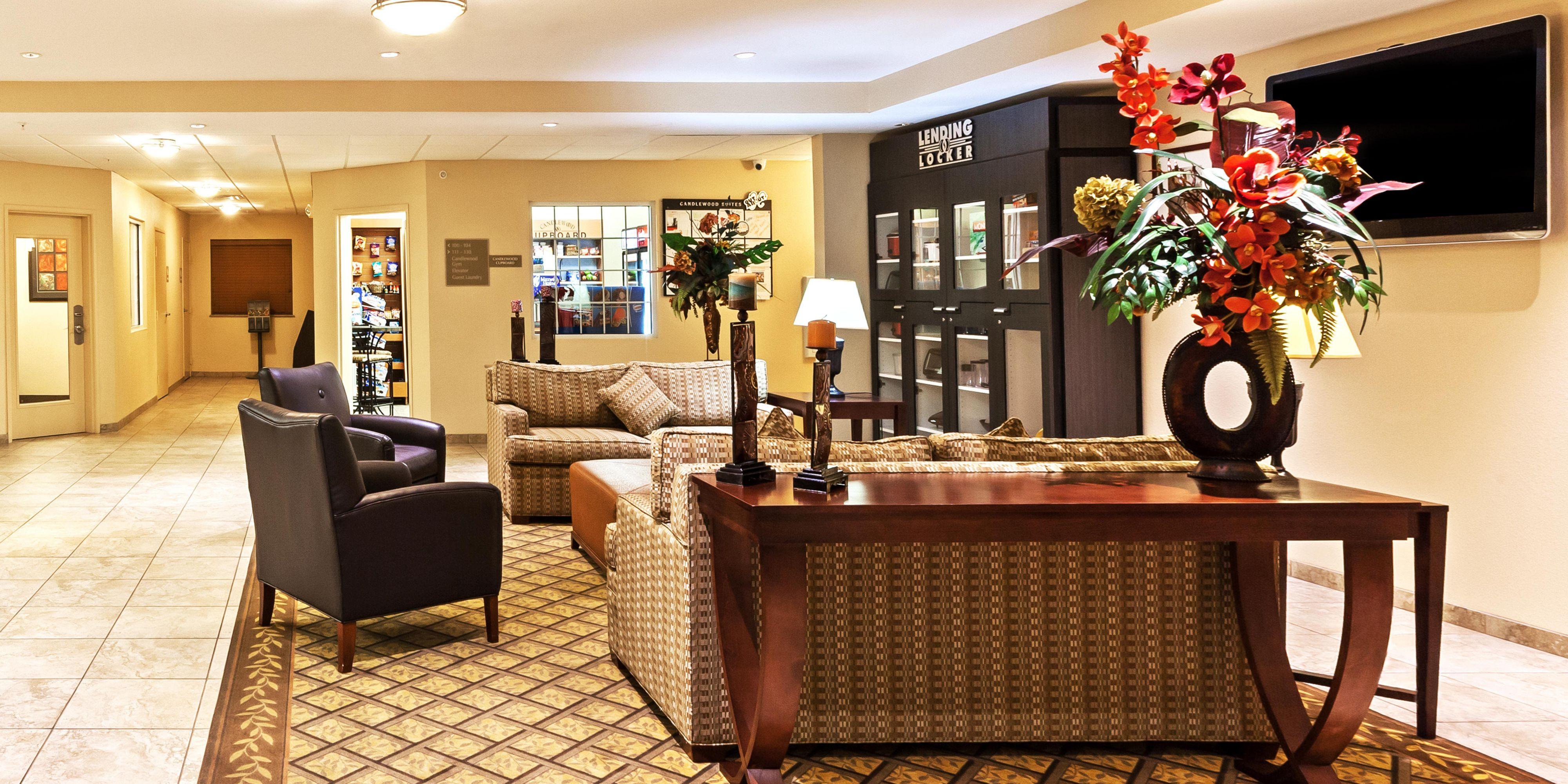 ... Hotel Lobby ...