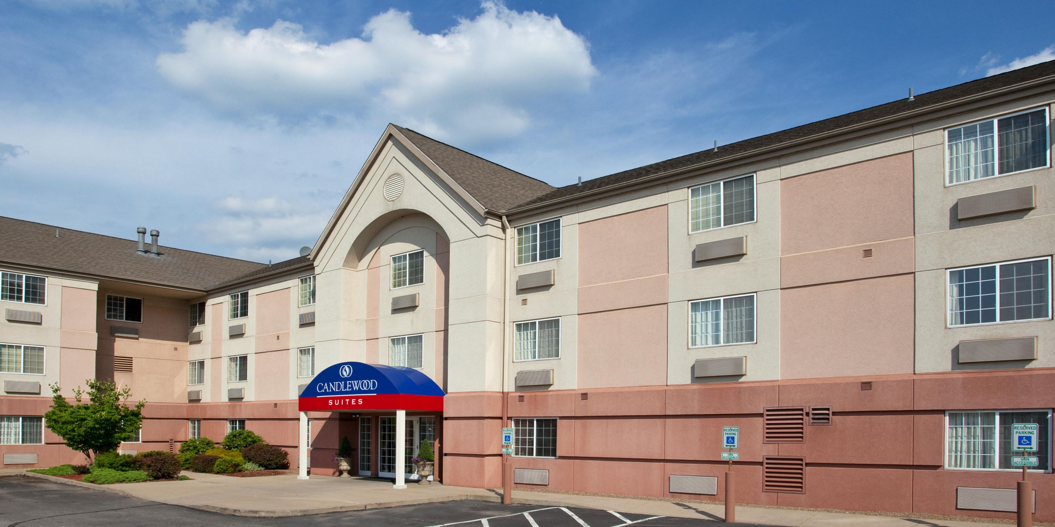 Hotel Exterior Photo Welcome To The Candlewood Suites Pittsburgh Airport