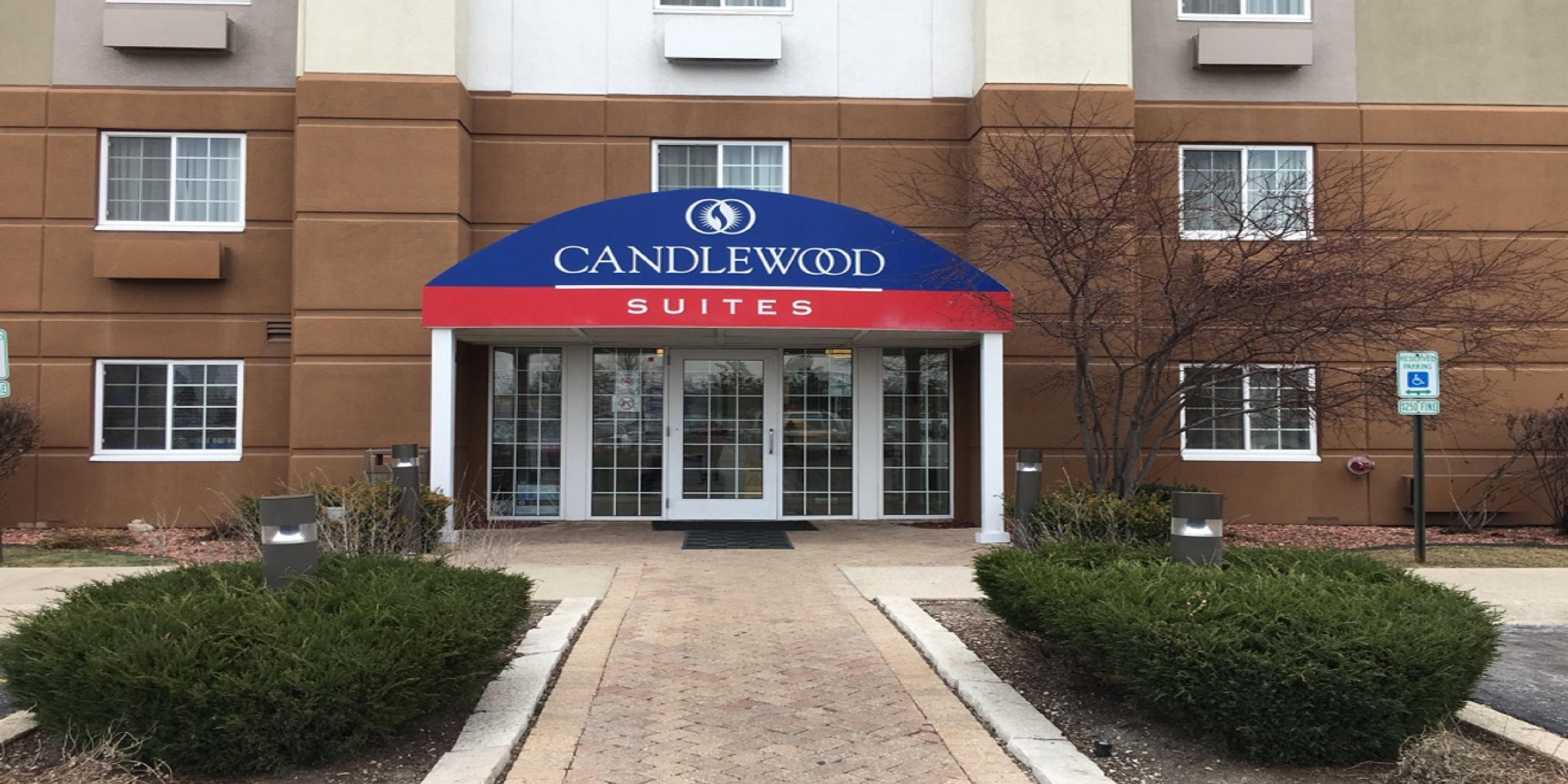 Hotel Near Chicago O Hare Candlewood Suites Schiller Park