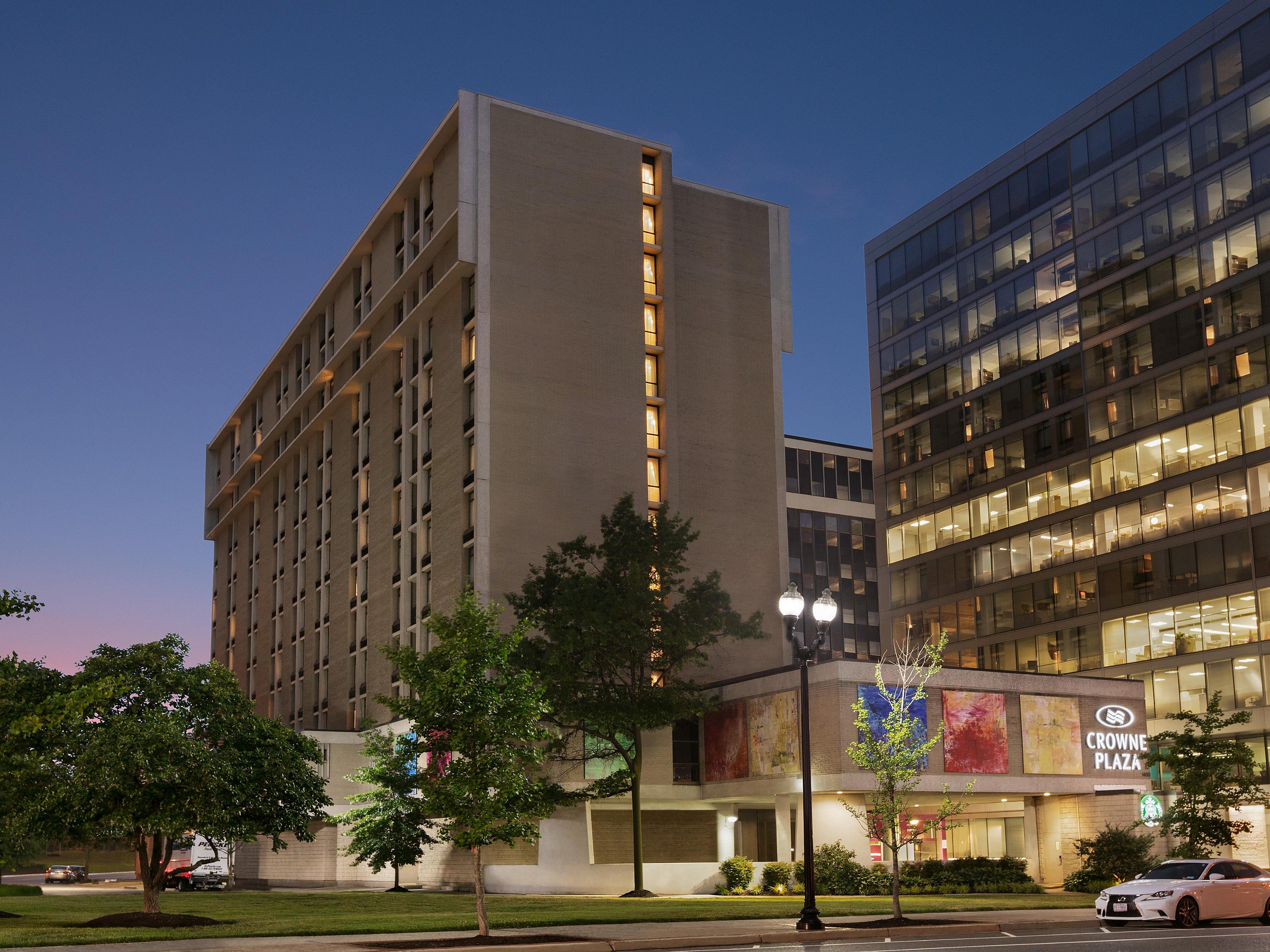 Arlington Va Hotels Near Dca Crowne Plaza Crystal City