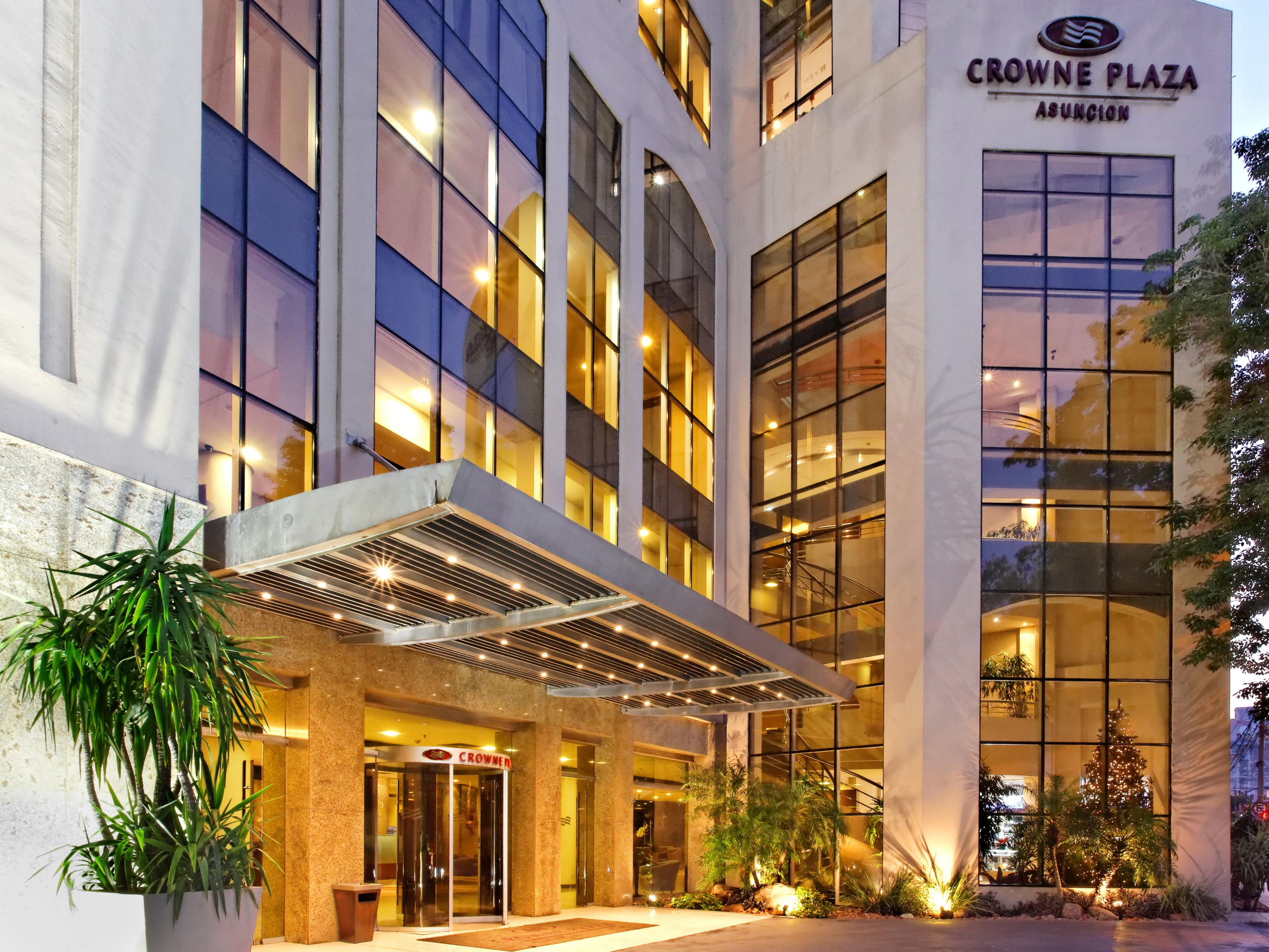 Crowne Plaza Asuncion Business Hotels In Paraguay By Ihg