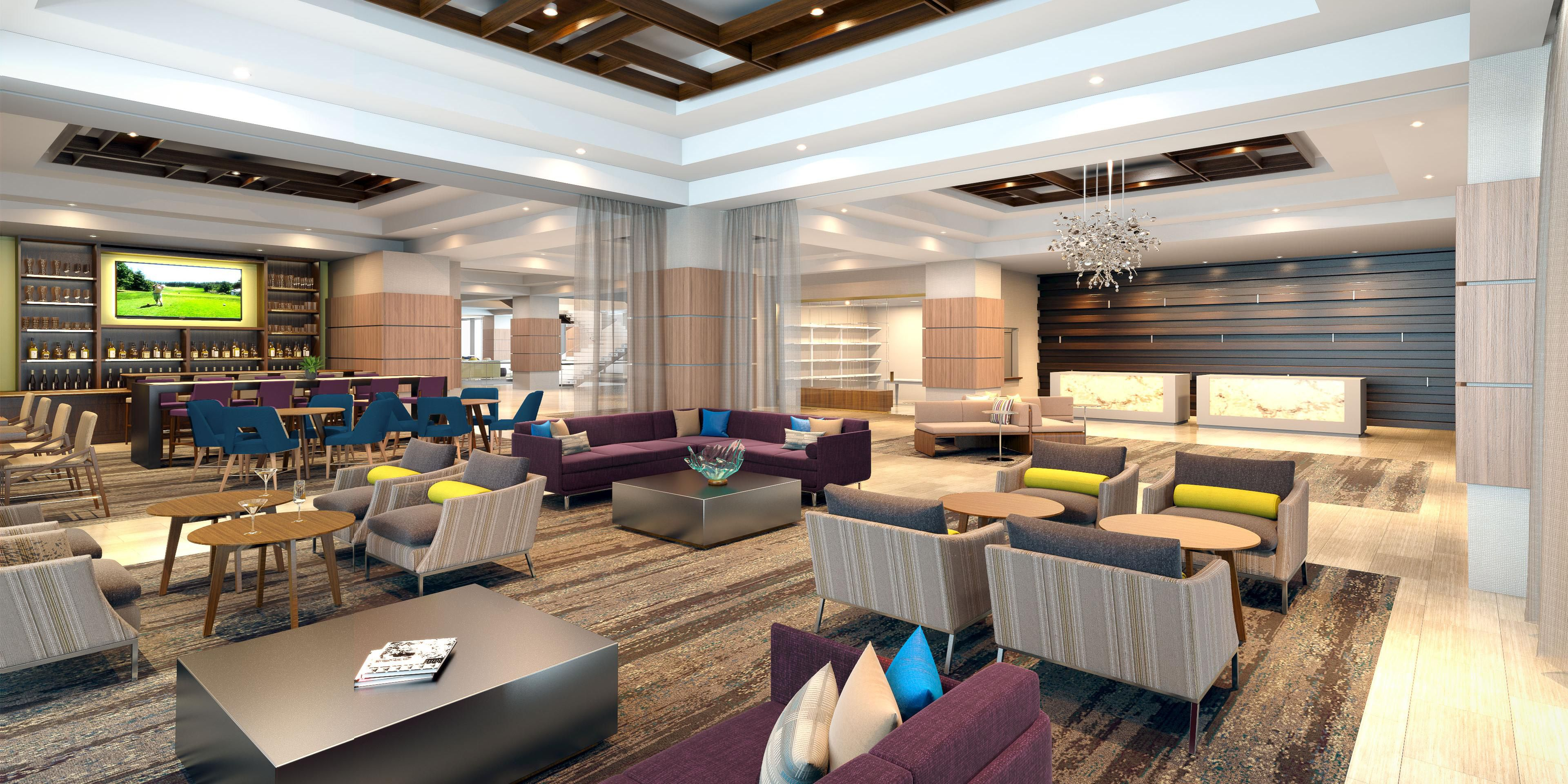 ... Atlanta Midtown; Coming Soon, The New Crowne Plaza Lobby ...