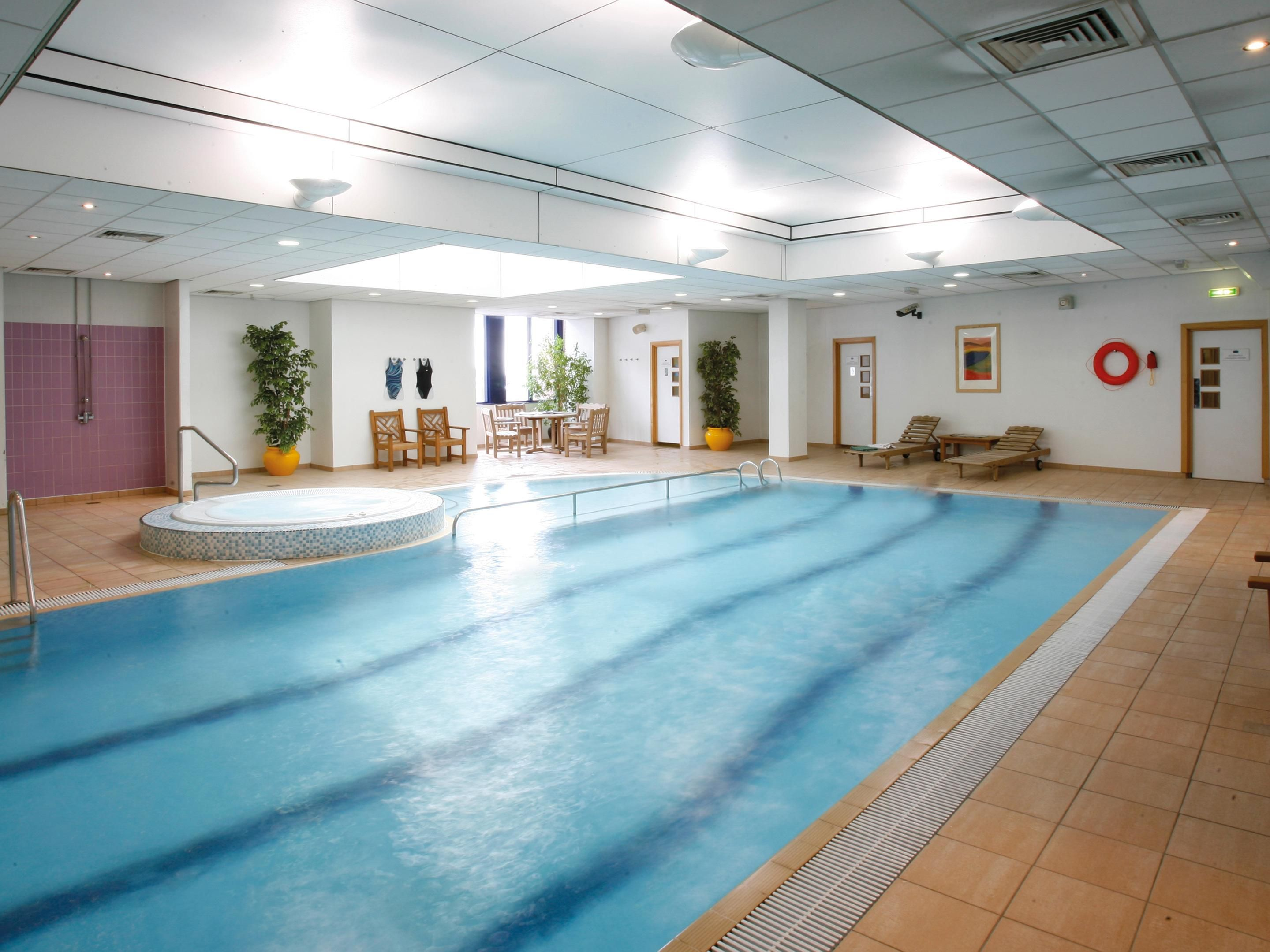 Indoor Heated Swimming Pool With Sauna Steamroom And Spa