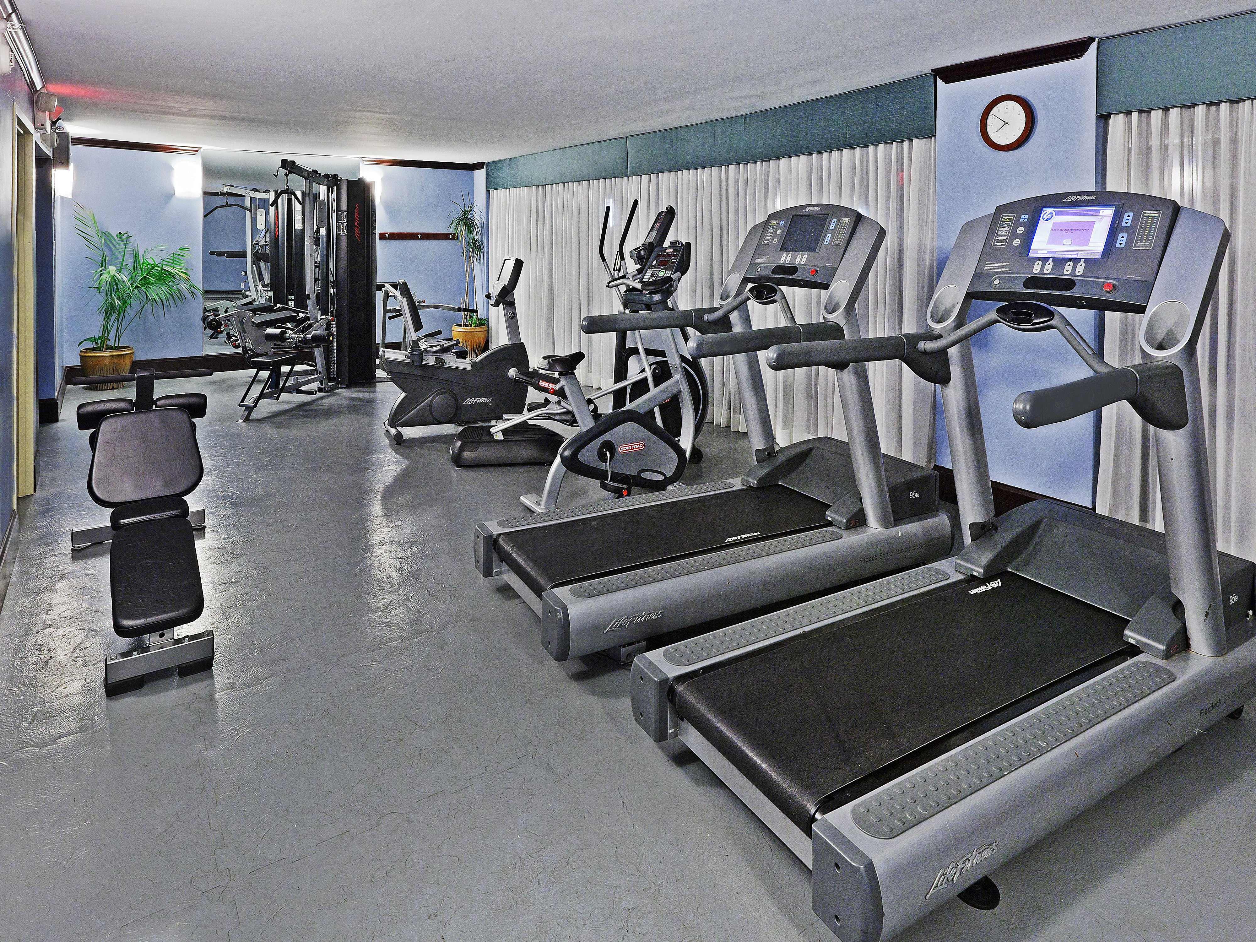 Crowne plaza dallas downtown health and fitness facilities