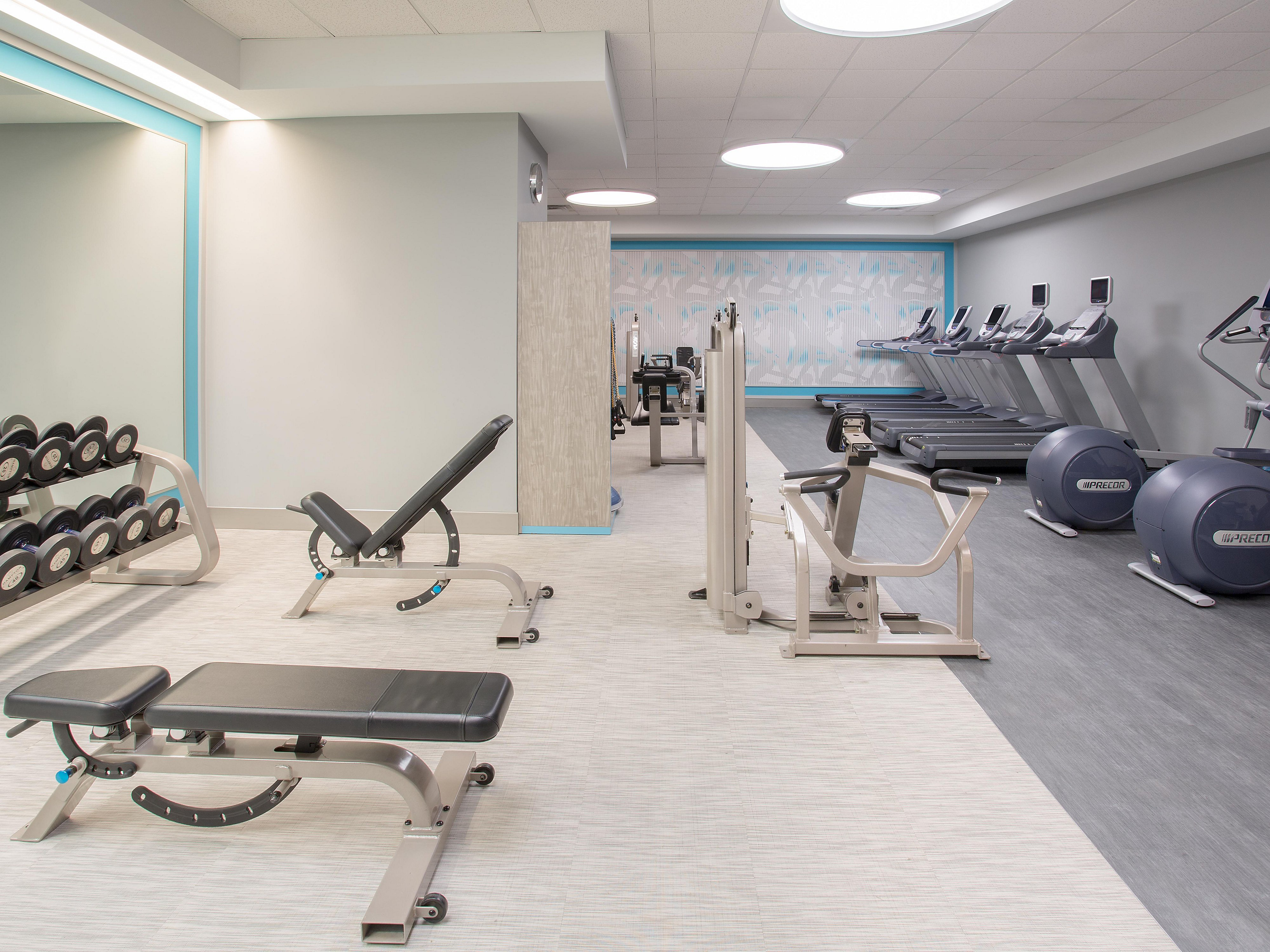 Crowne Plaza Denver Airport Convention Ctr Health and Fitness Facilities