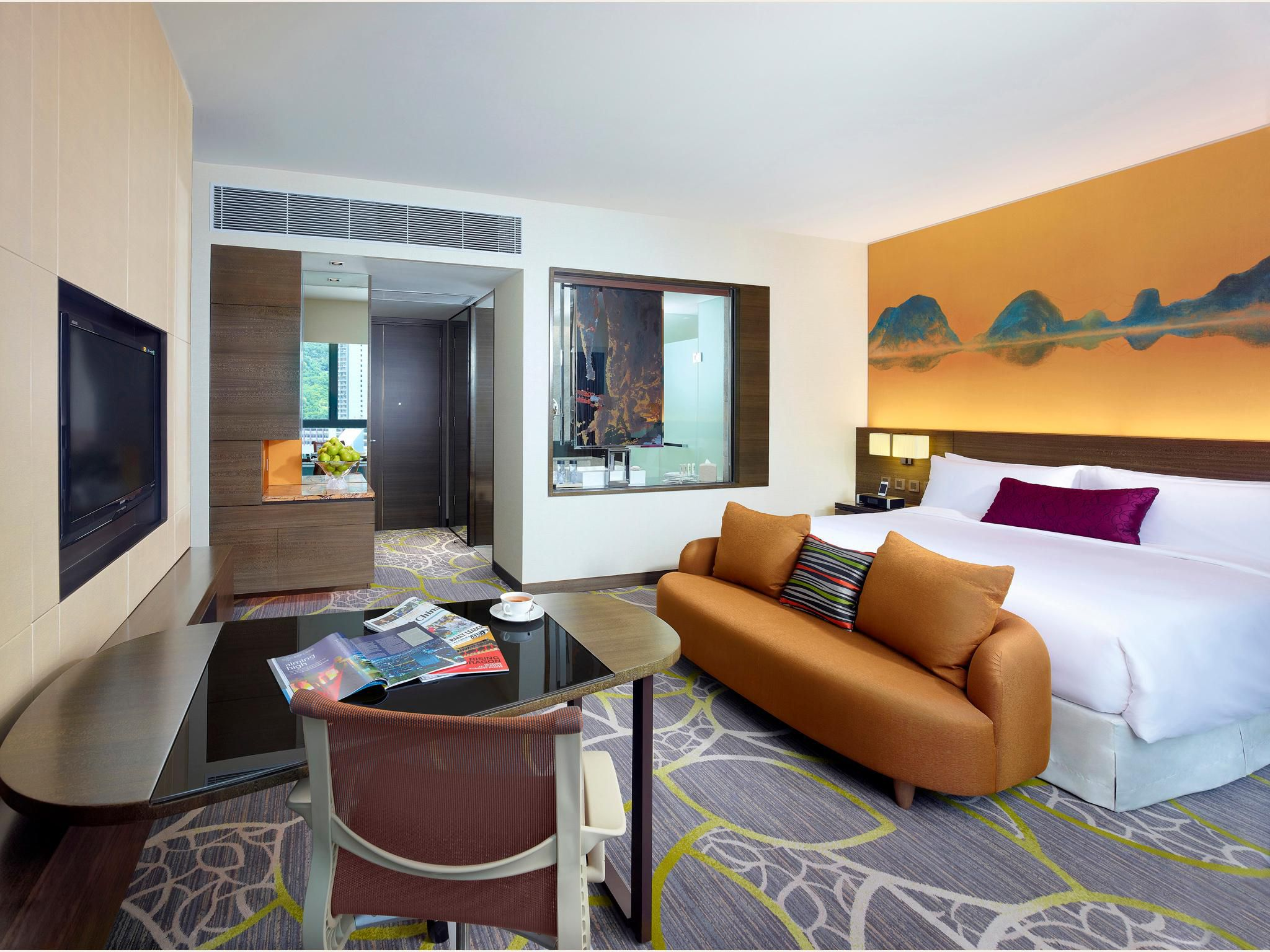 Business hotel in hong kong east hotel - Ihg Crowneplaza Components Photogallery Roomphotos Primary