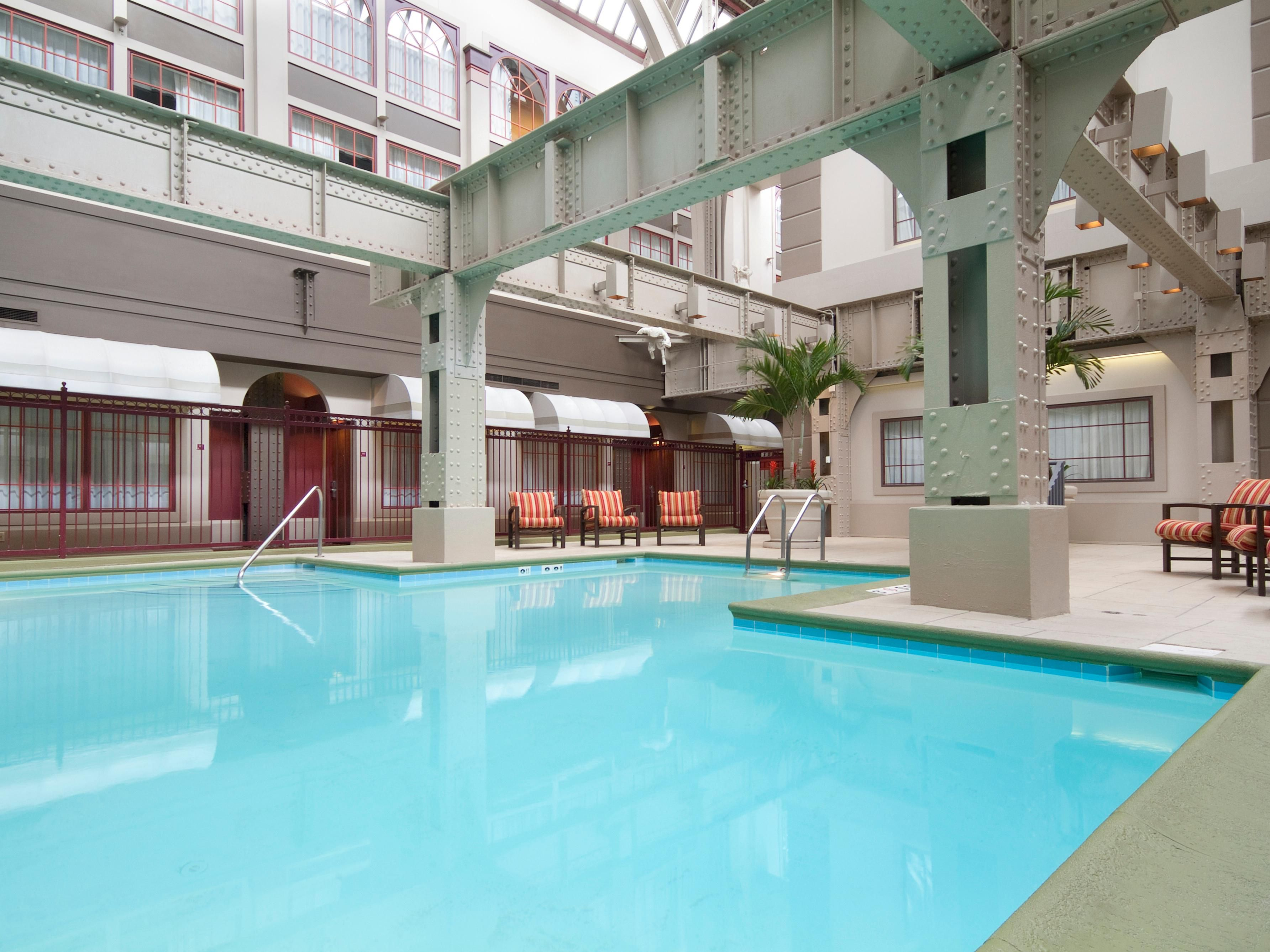 Hotels With Indoor Pools Indianapolis