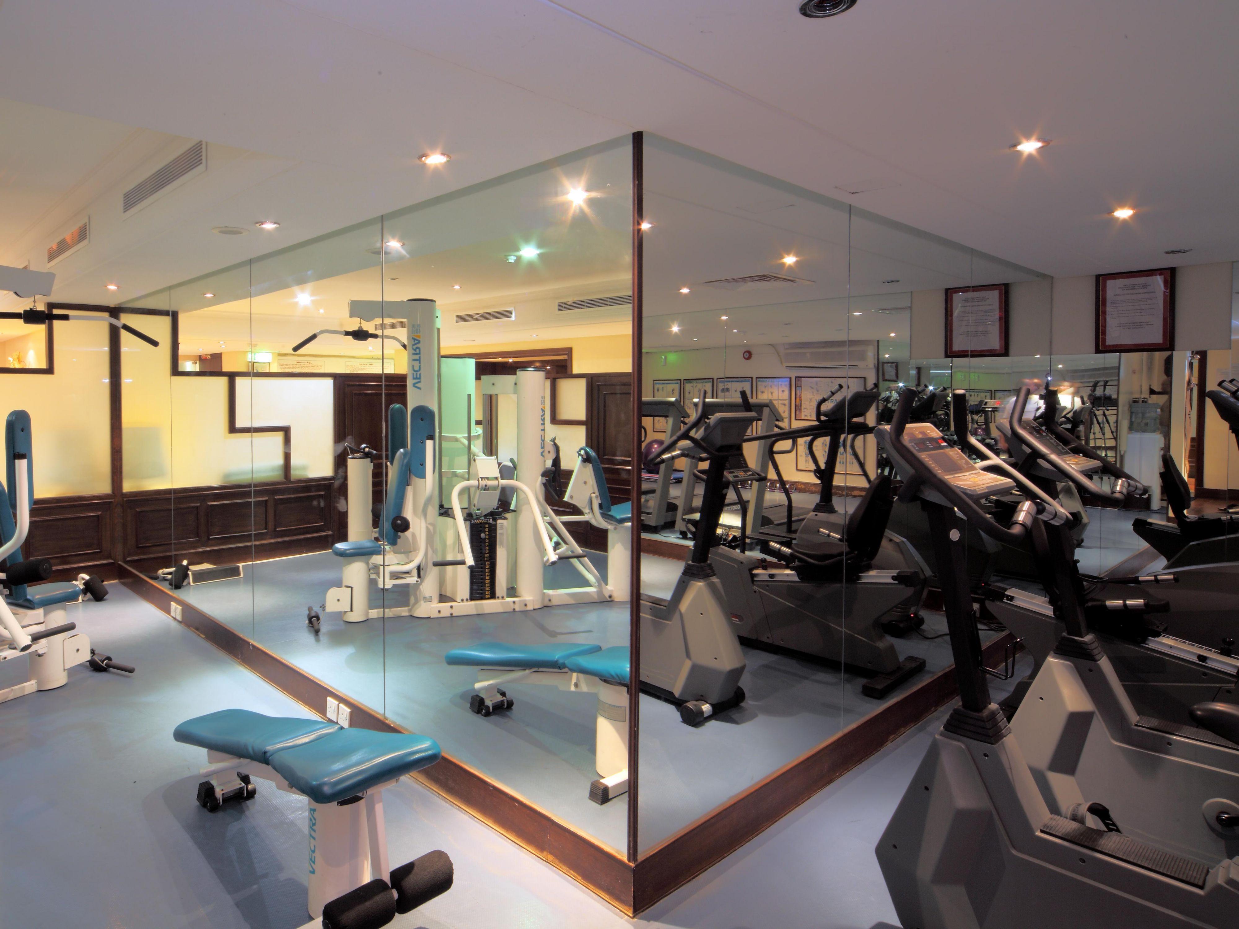 Crowne plaza jeddah health and fitness facilities