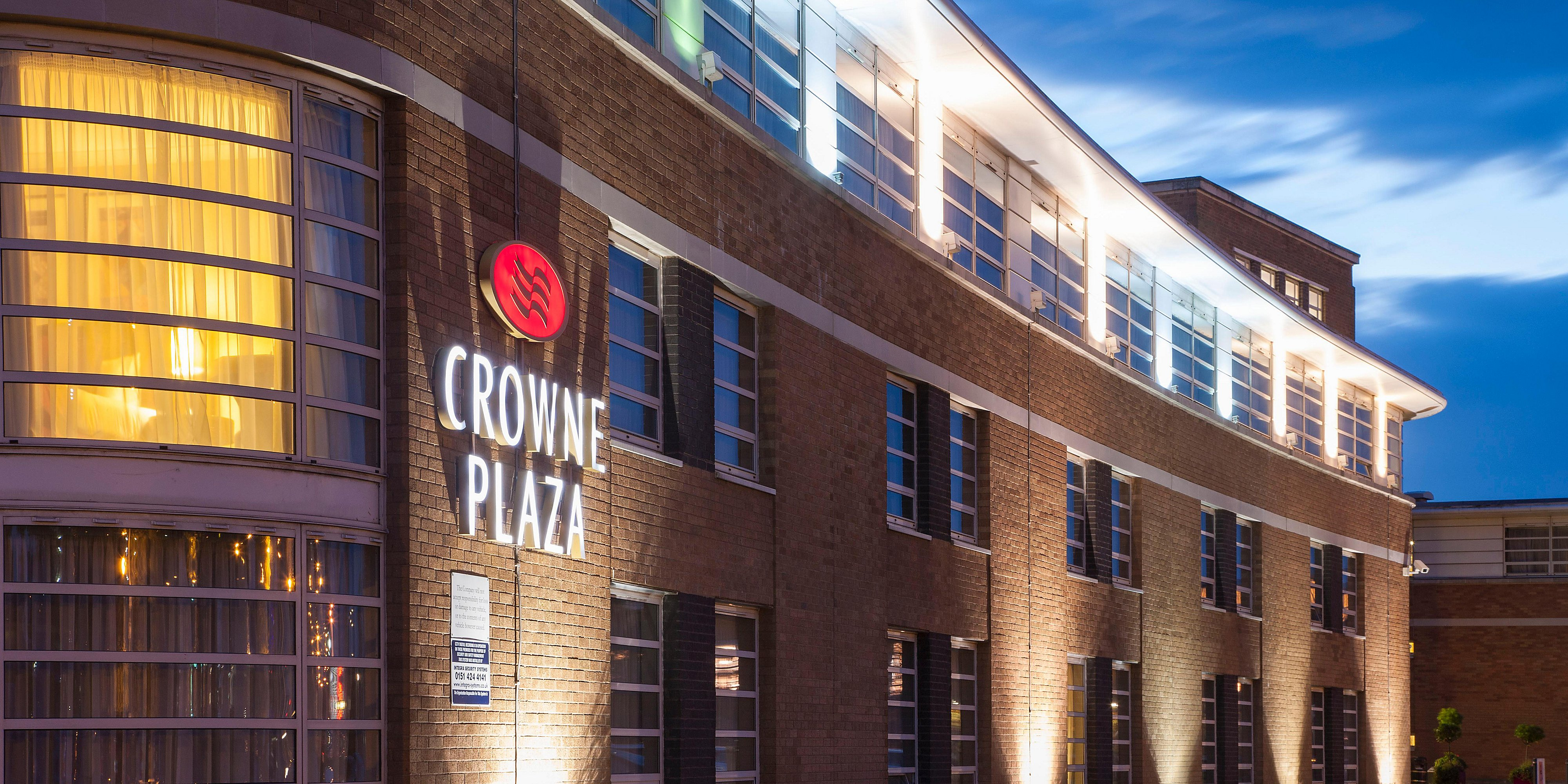 Crowne Plaza Hotel Liverpool John Lennon Airport