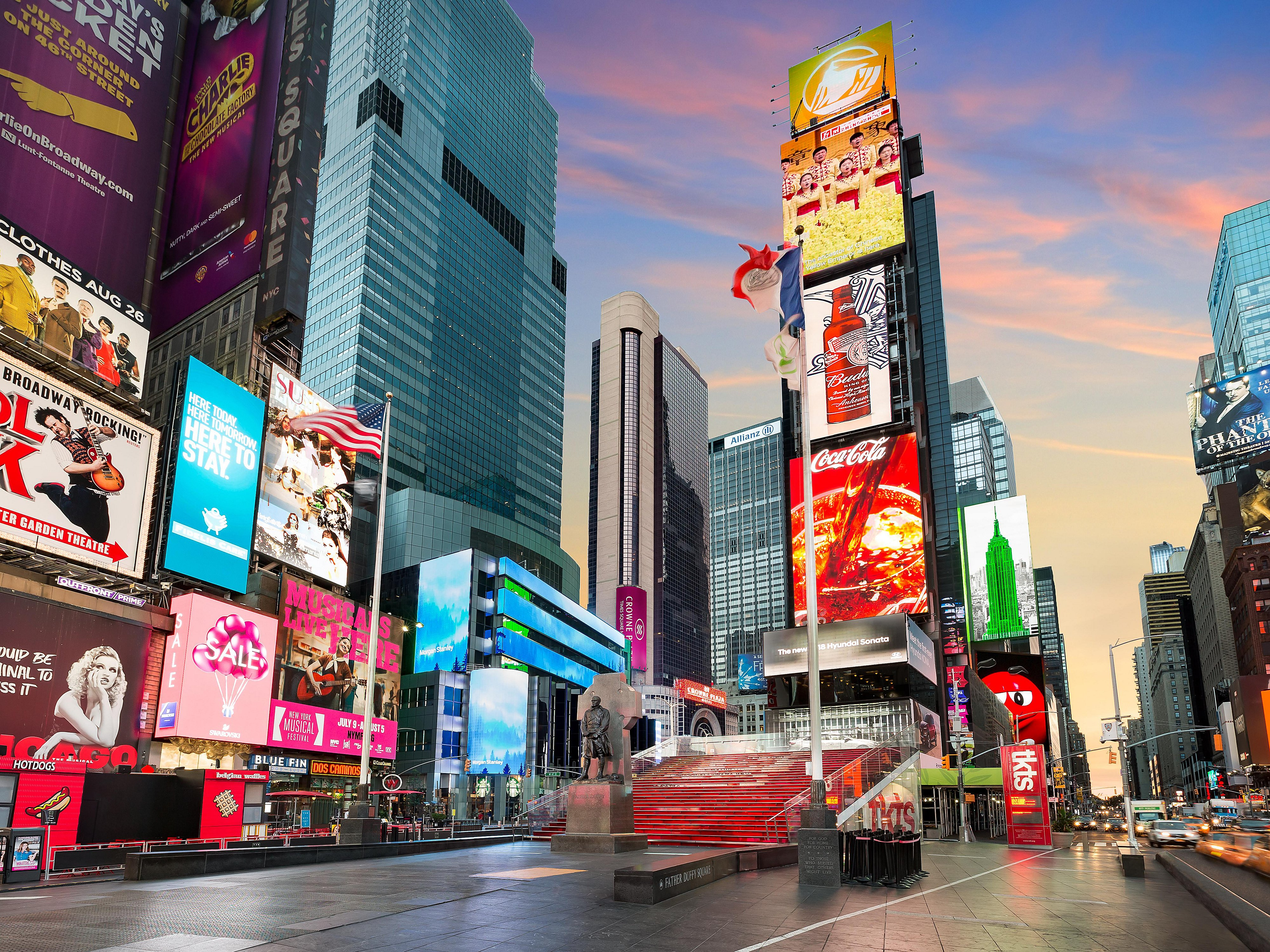 A New Day For Times Square And The Crowne Plaza