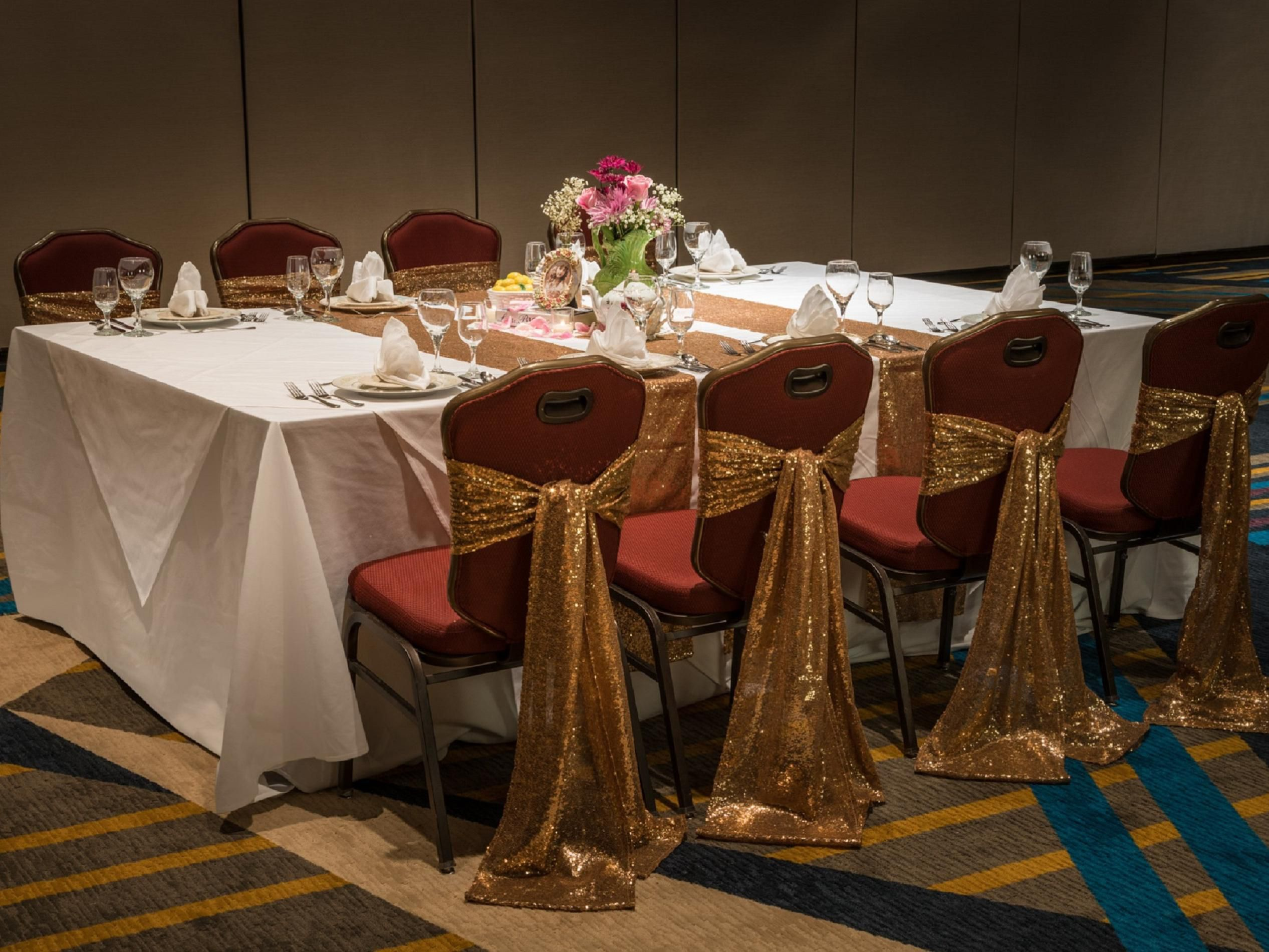 wedding reception crowne plazspringfield il%0A Ballroom Photo