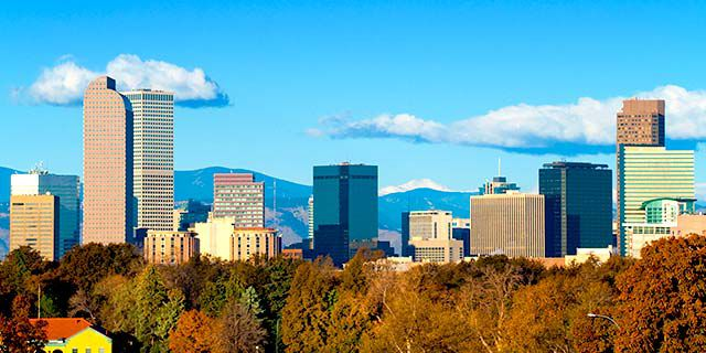 View hotels in Denver