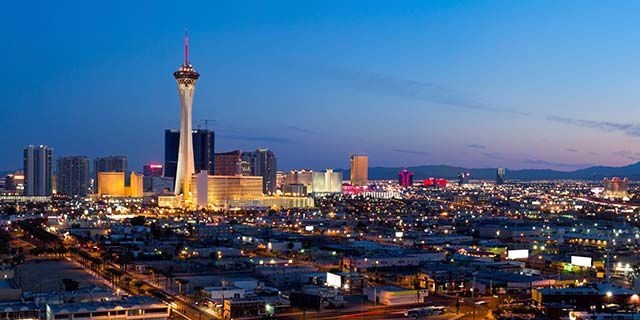View hotels in Las Vegas