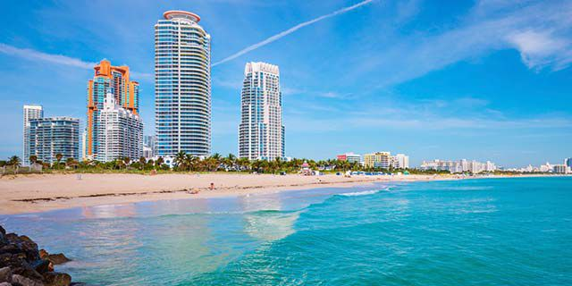 View hotels in Miami Beach