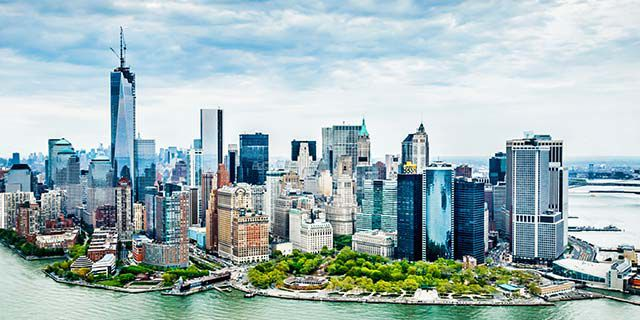 View hotels in New York City
