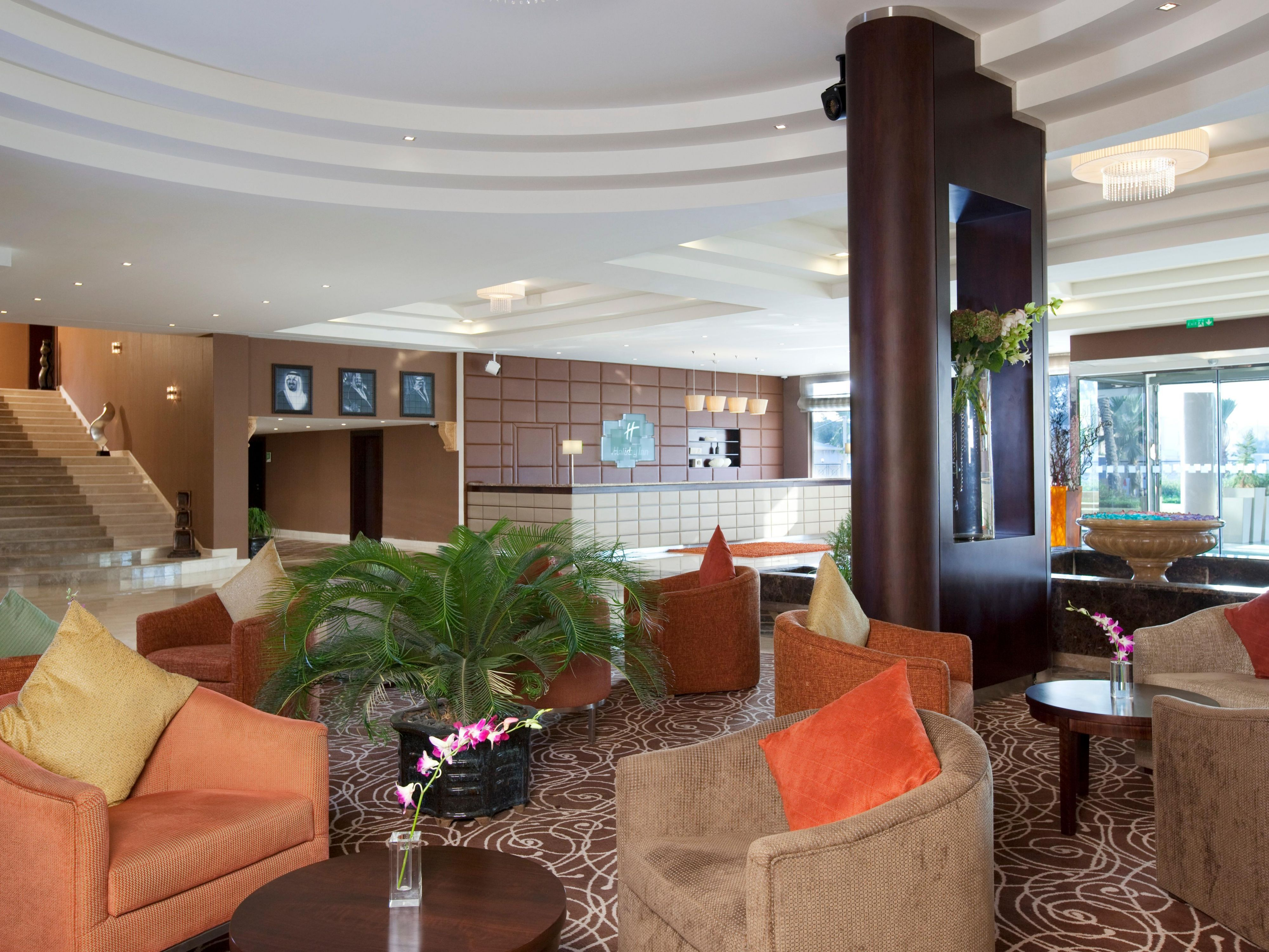 Hotel Lobby with Reception