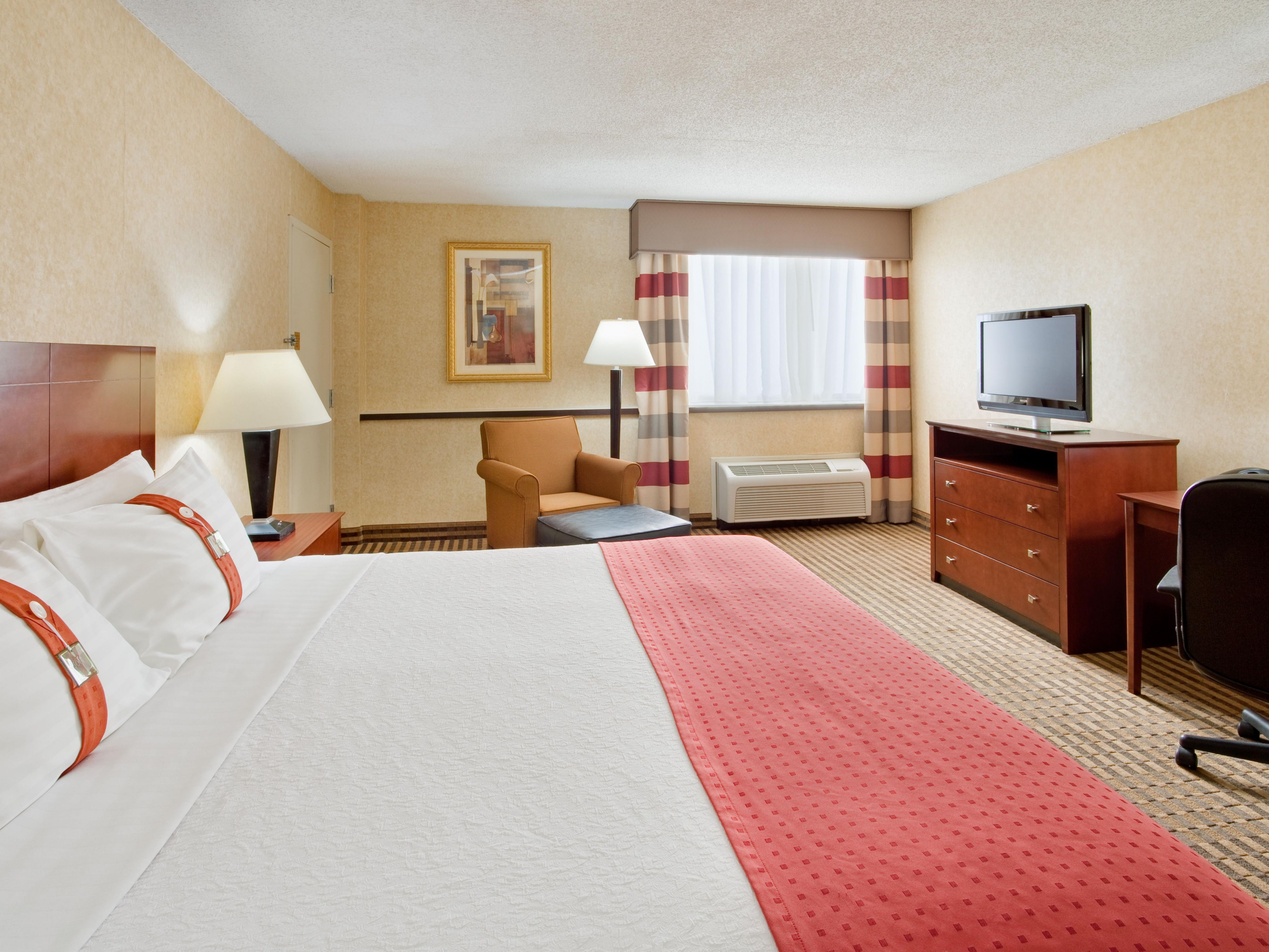 Rest and Relax in our Spacious King Guest Rooms
