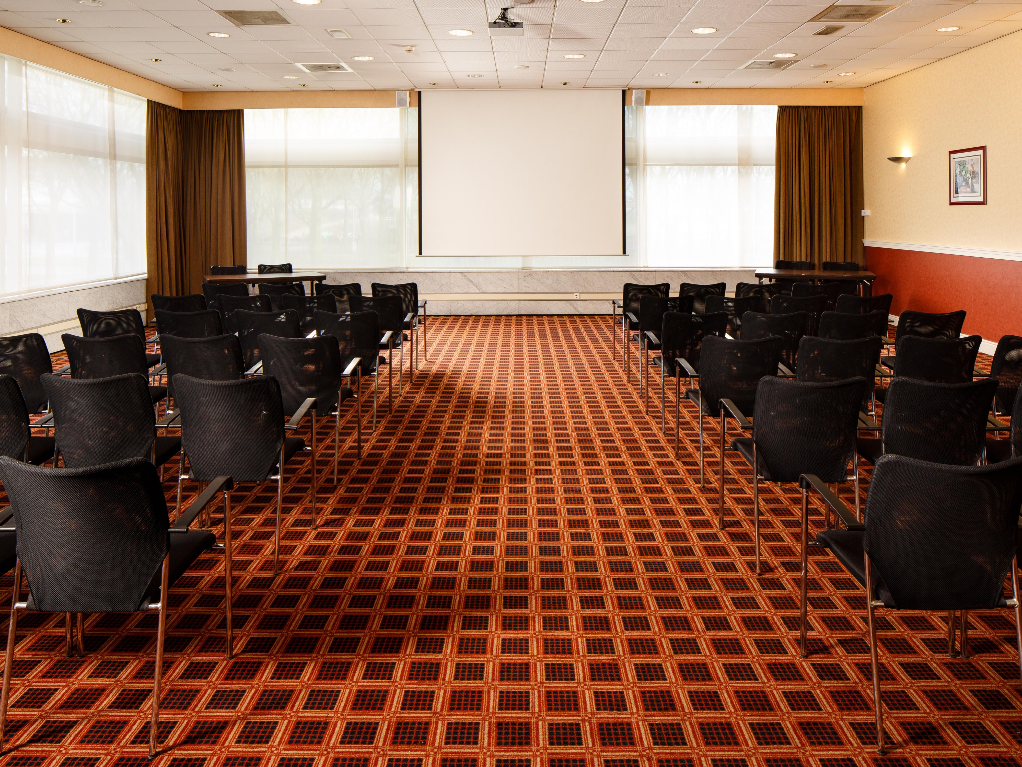 Theatre Style Meeting Room Set Up